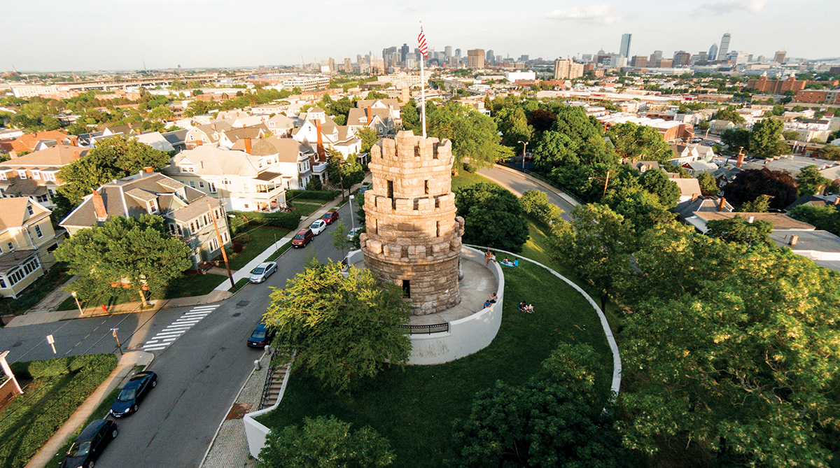 prospect hill tower somerville