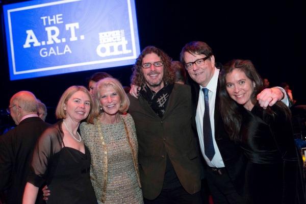Diane Quinn, RoAnn Costin, Ernie Boch Jr., Mike Dreese, Diane Paulus / Photo by Gretjen Helene Photography