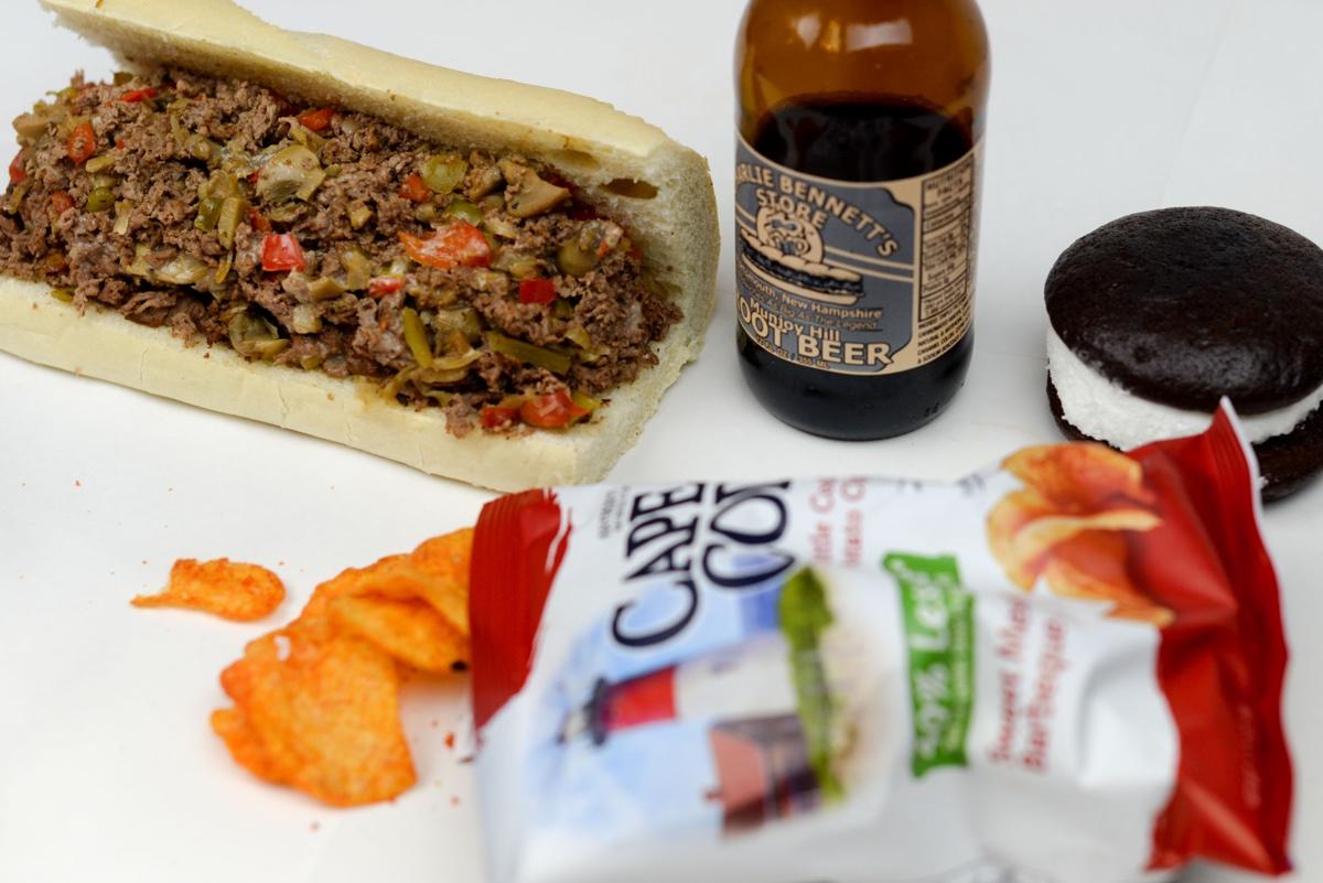 A proper lunch at Bennett's Sandwich Shop