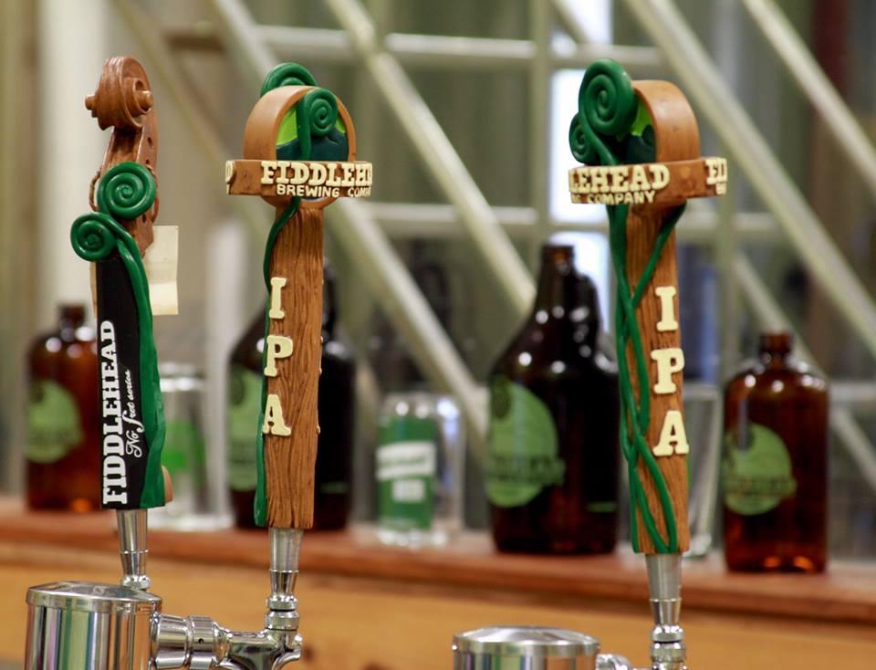 Fiddlehead IPA tap handles