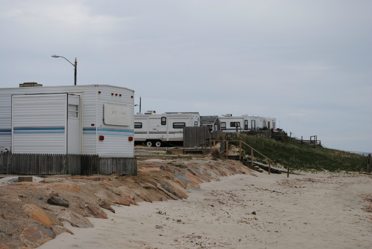 This Cape Cod Cottage Community Used to Be an RV Park