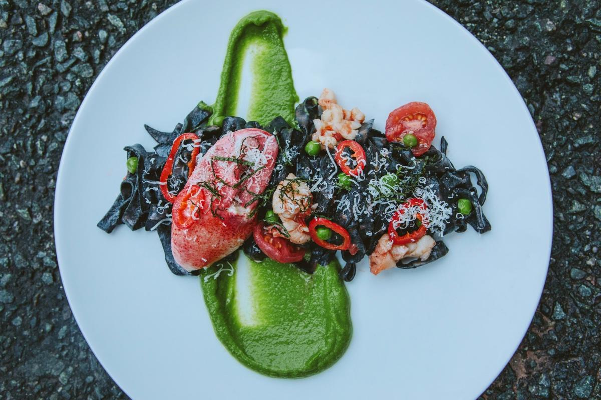 Lobster Bolognese at Little Owl Tavern at Wink & Nod