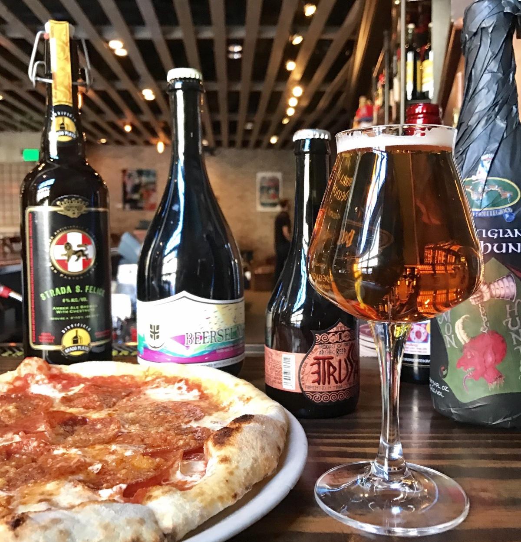 Italian craft beers at Pastoral