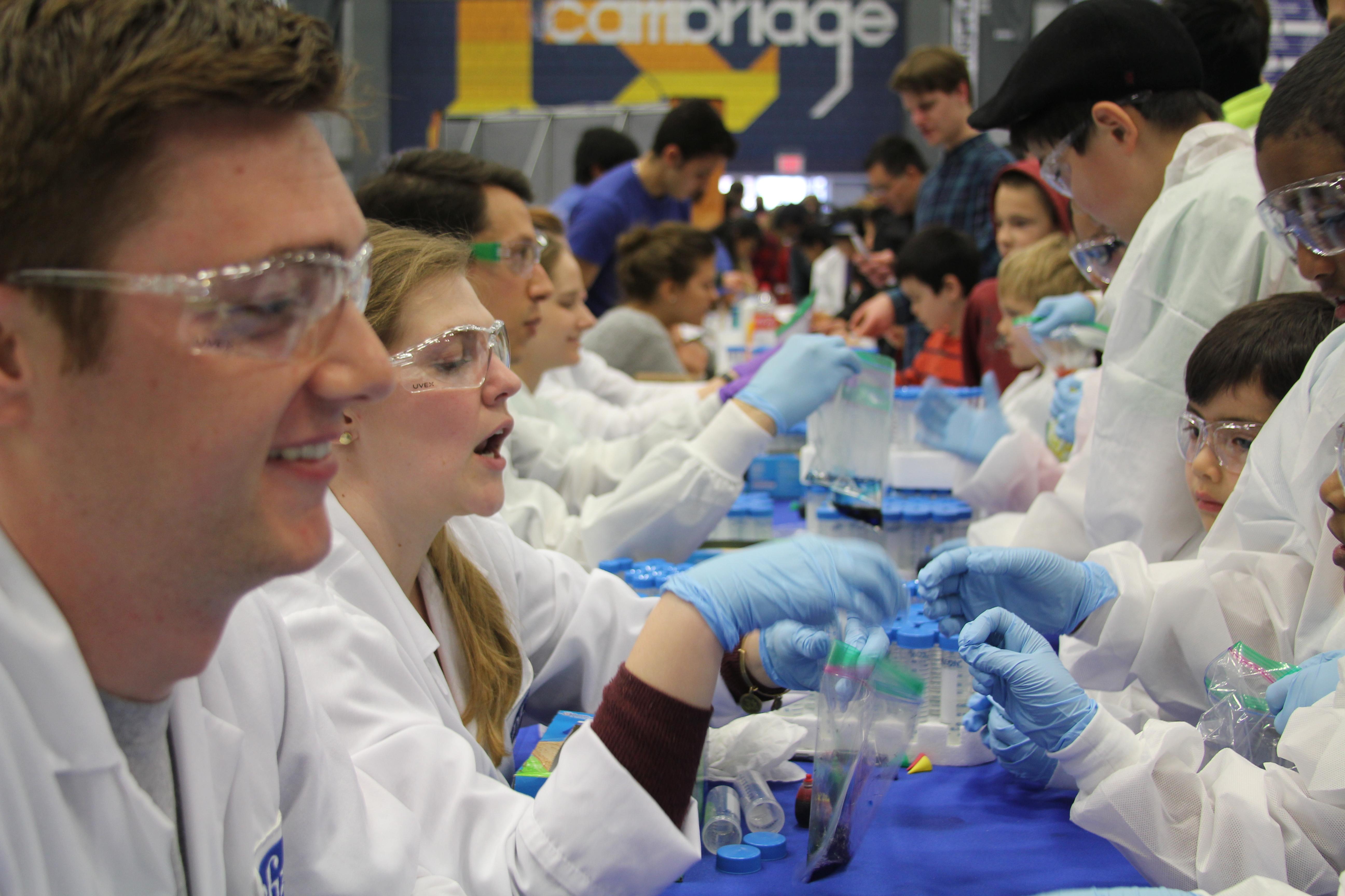 Photo courtesy of Cambridge Science Festival