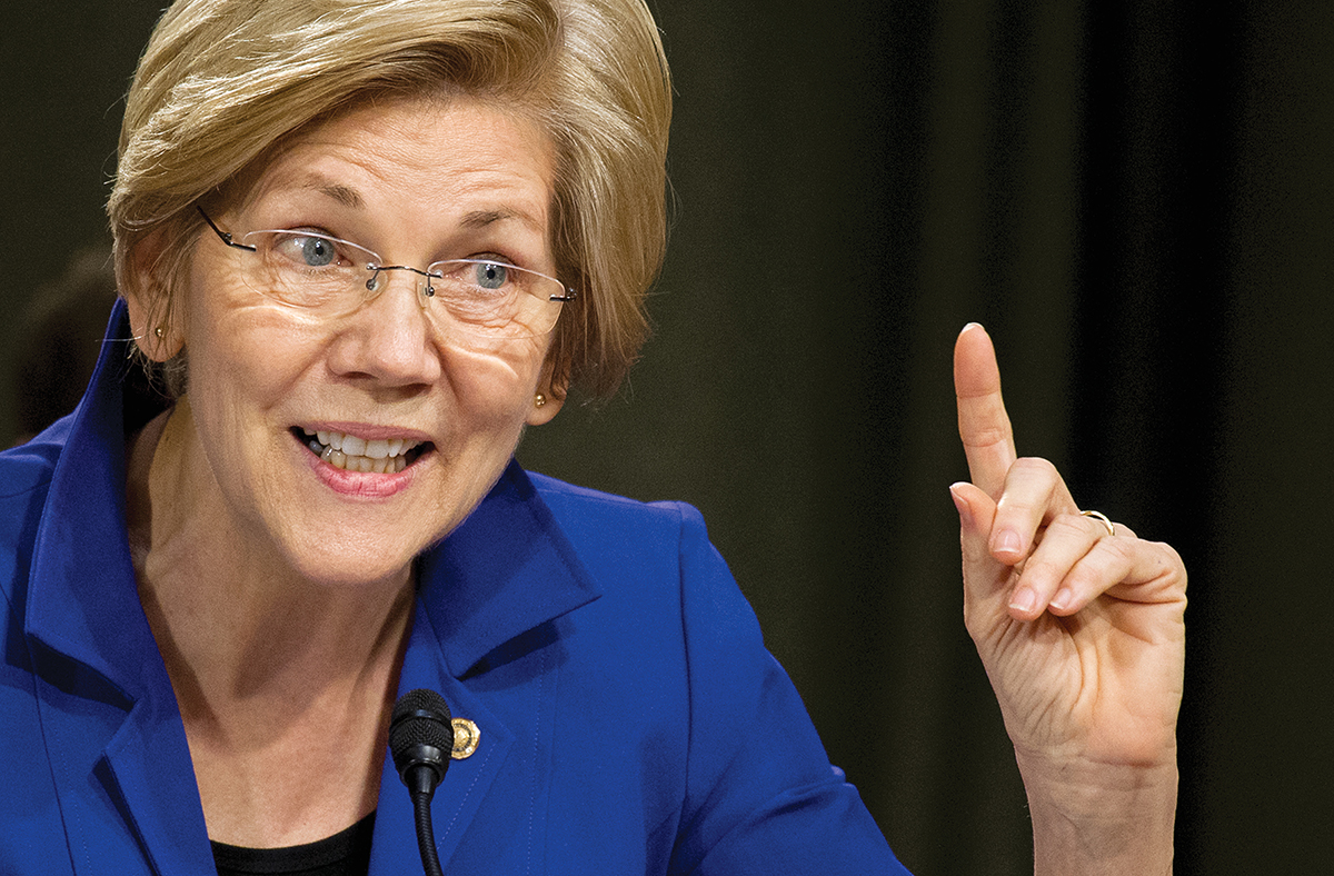 Elizabeth Warren ingin memecah Google, Amazon dan Facebook