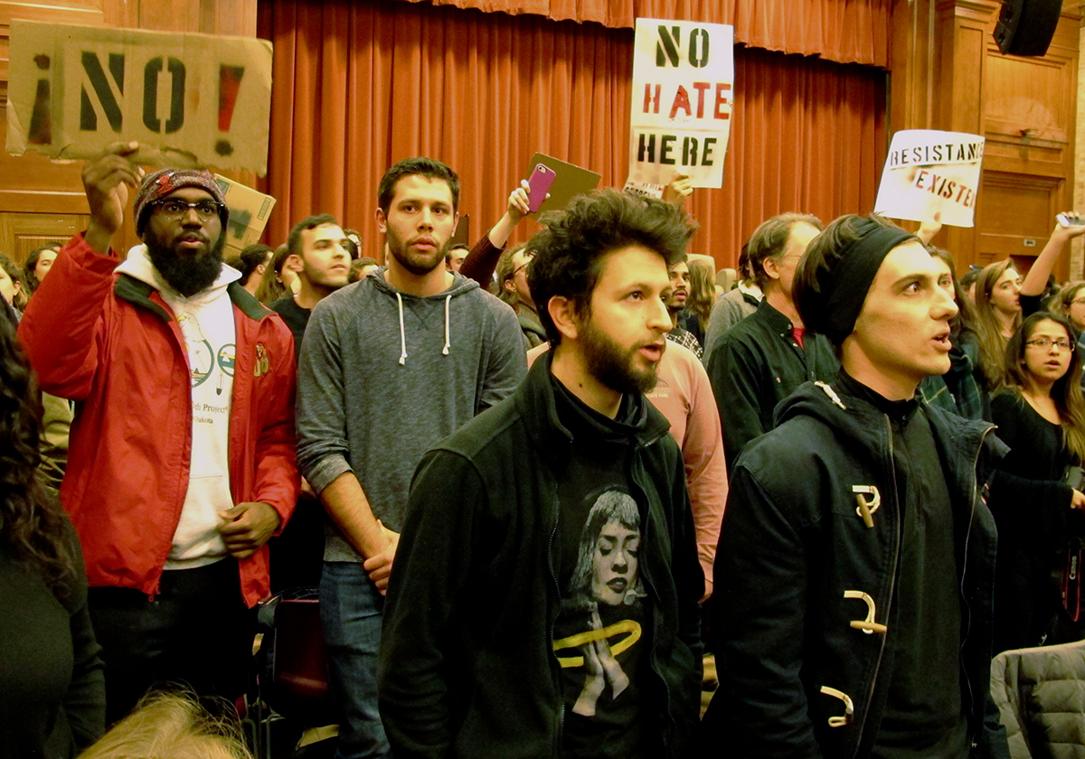 middlebury college charles murray protesters