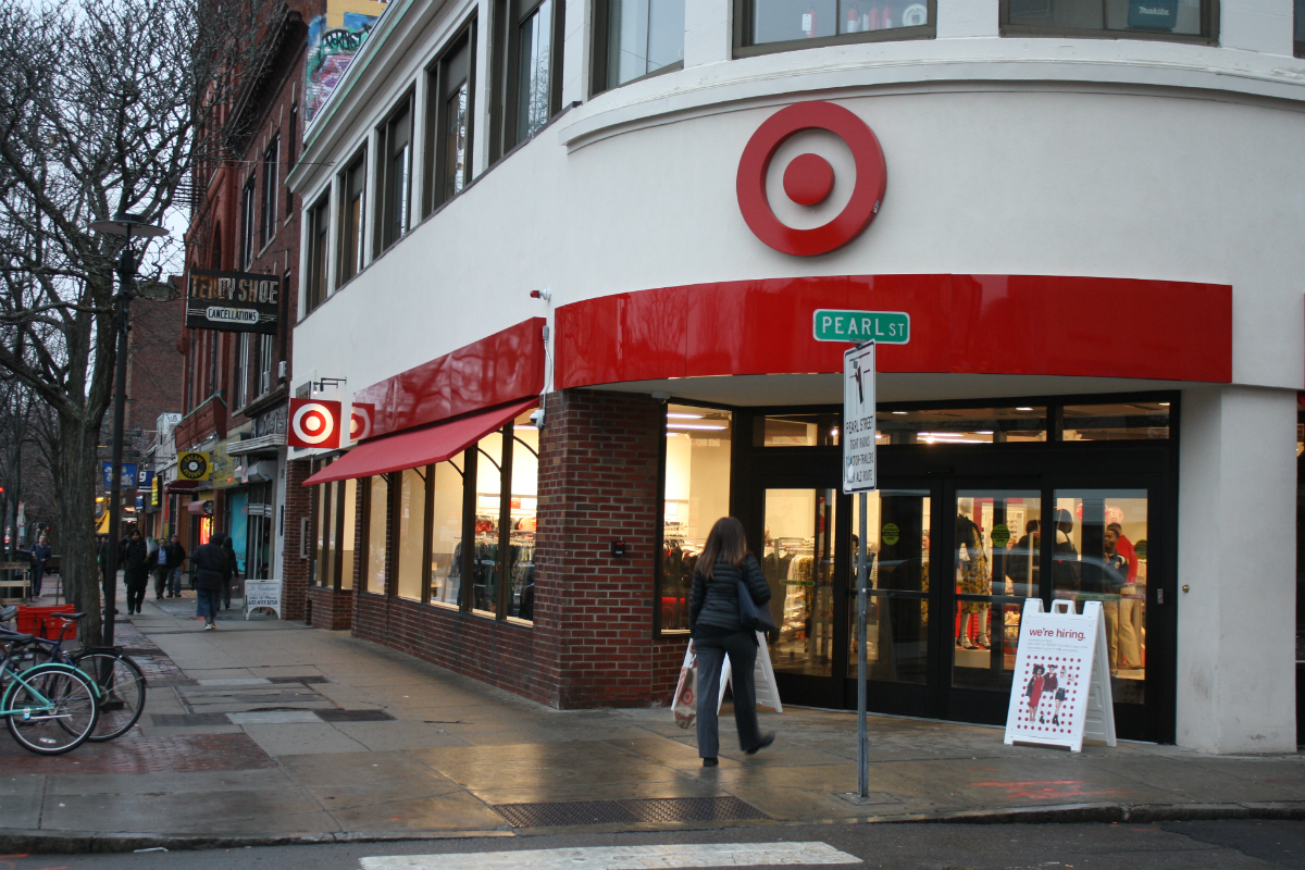 Take a Peek Inside the New Target in Central Square