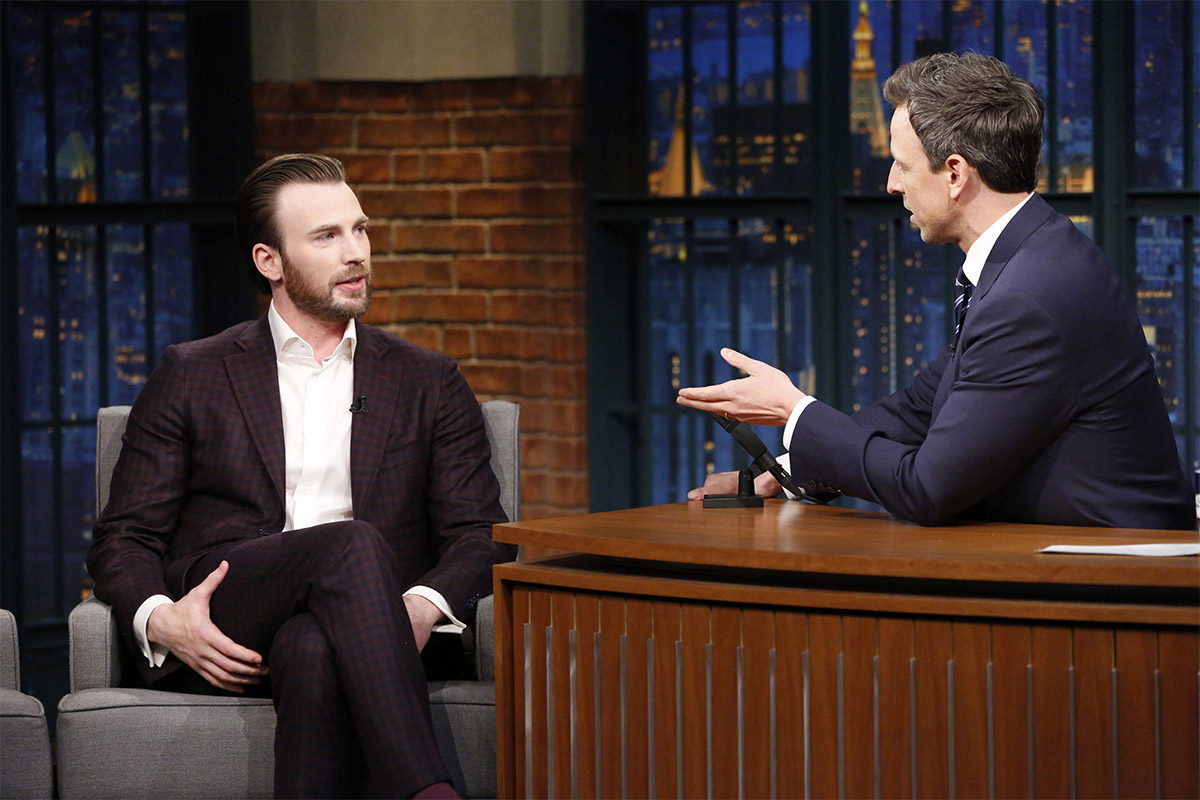 Chris Evans Seth Meyers