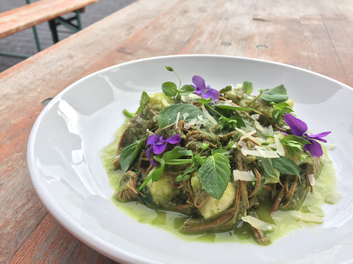 A gnocchi special with foraged plants is on special at Commonwealth on Friday