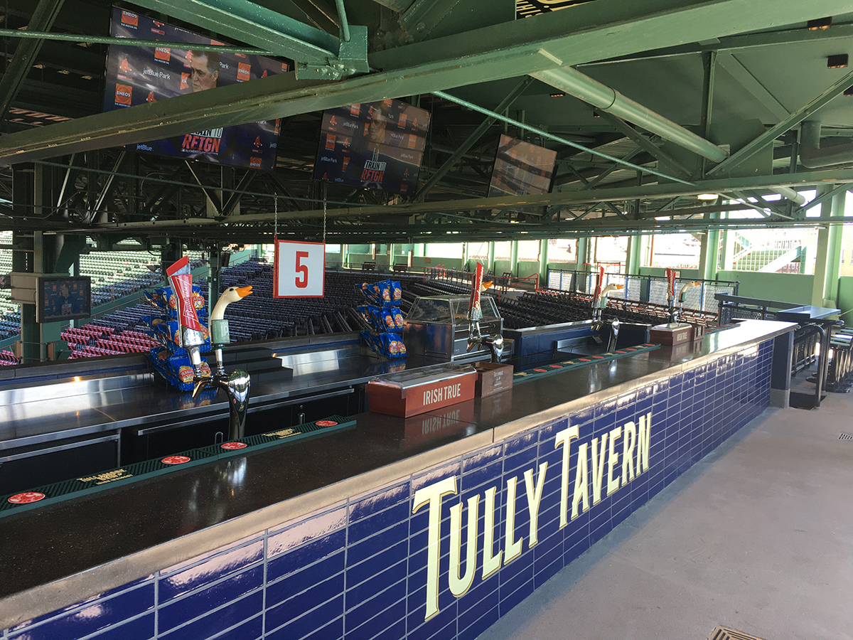 Restaurant Inside Fenway Park