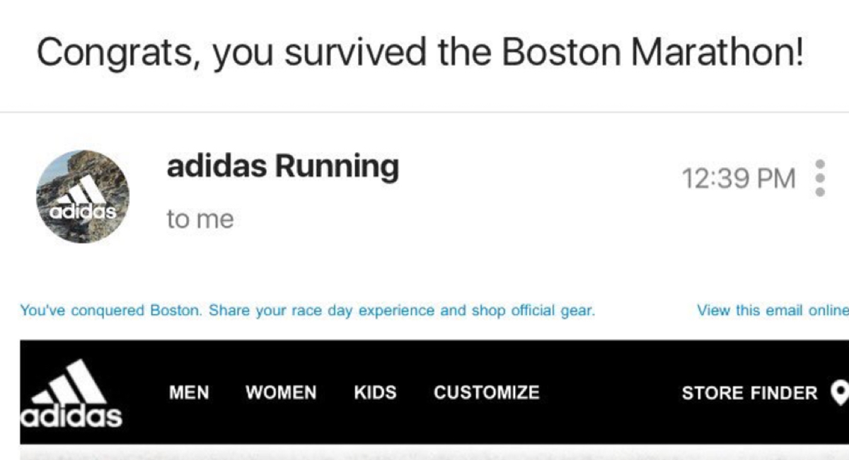 adidas email fb