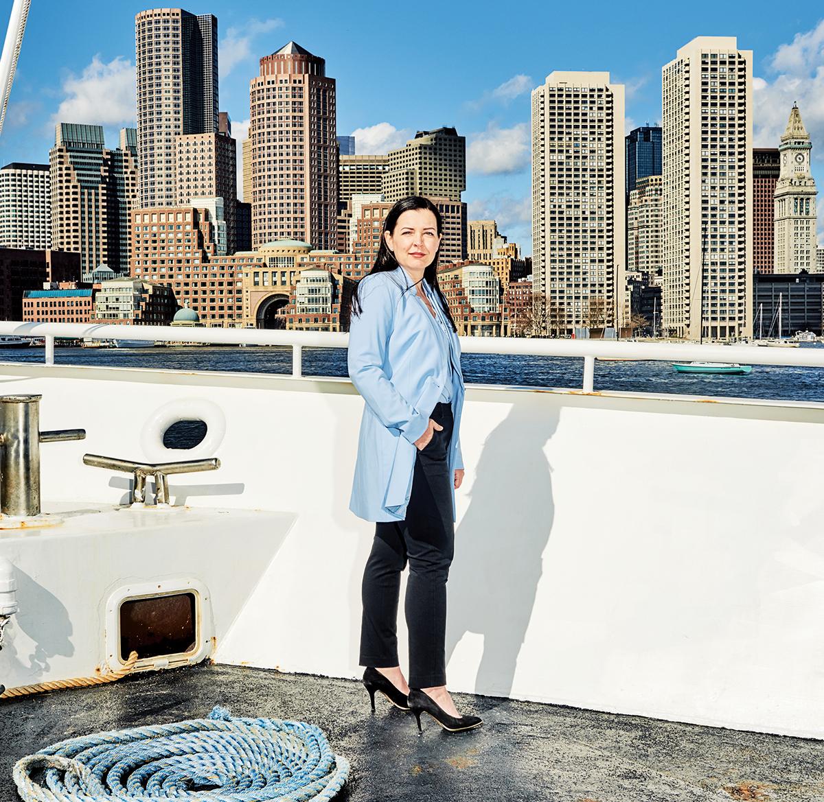 alison nolan boston harbor cruises