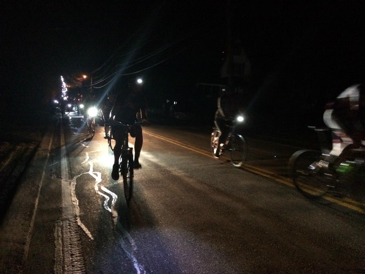 midnight marathon bike ride 2017