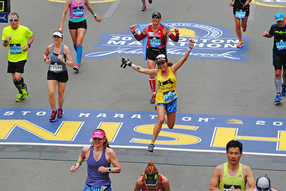 Boston Marathon 2017 Finish Line Photos