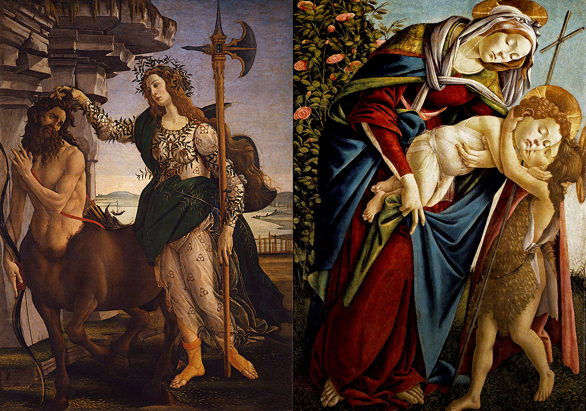 Renaissance paintings: a selection of sites