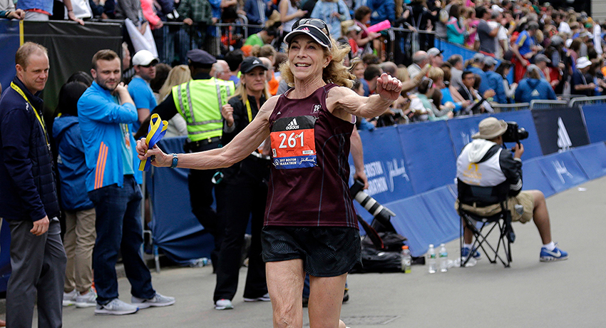 Catching up with Kathrine Switzer before the 2018 Boston ...