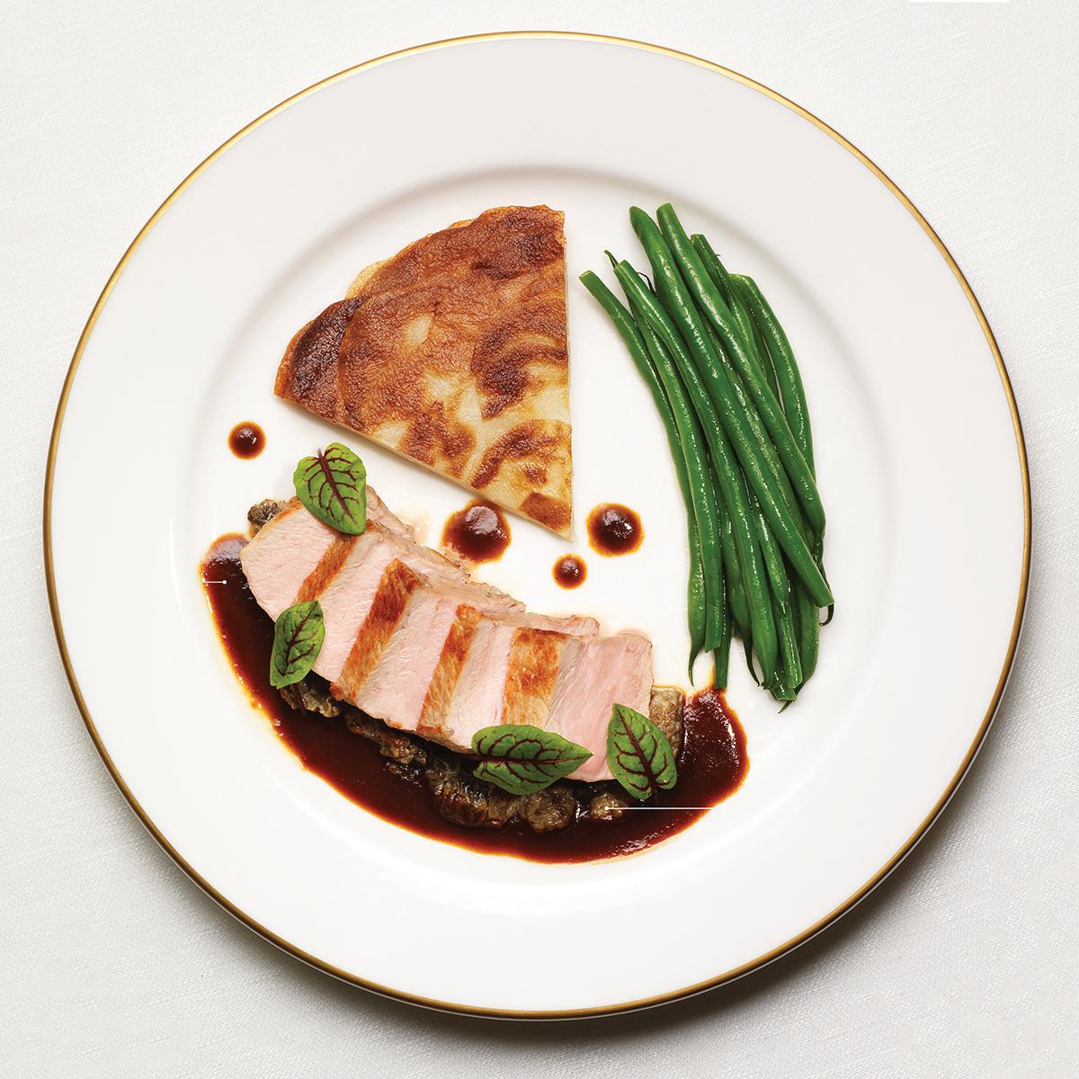 les sablons harvard square cambridge veal loin dish - Les Kitchen