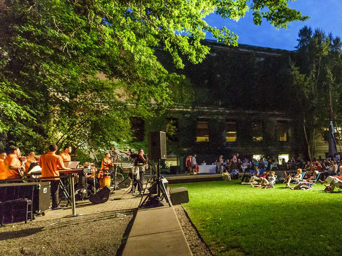 Concerts in the Courtyard at the MFA