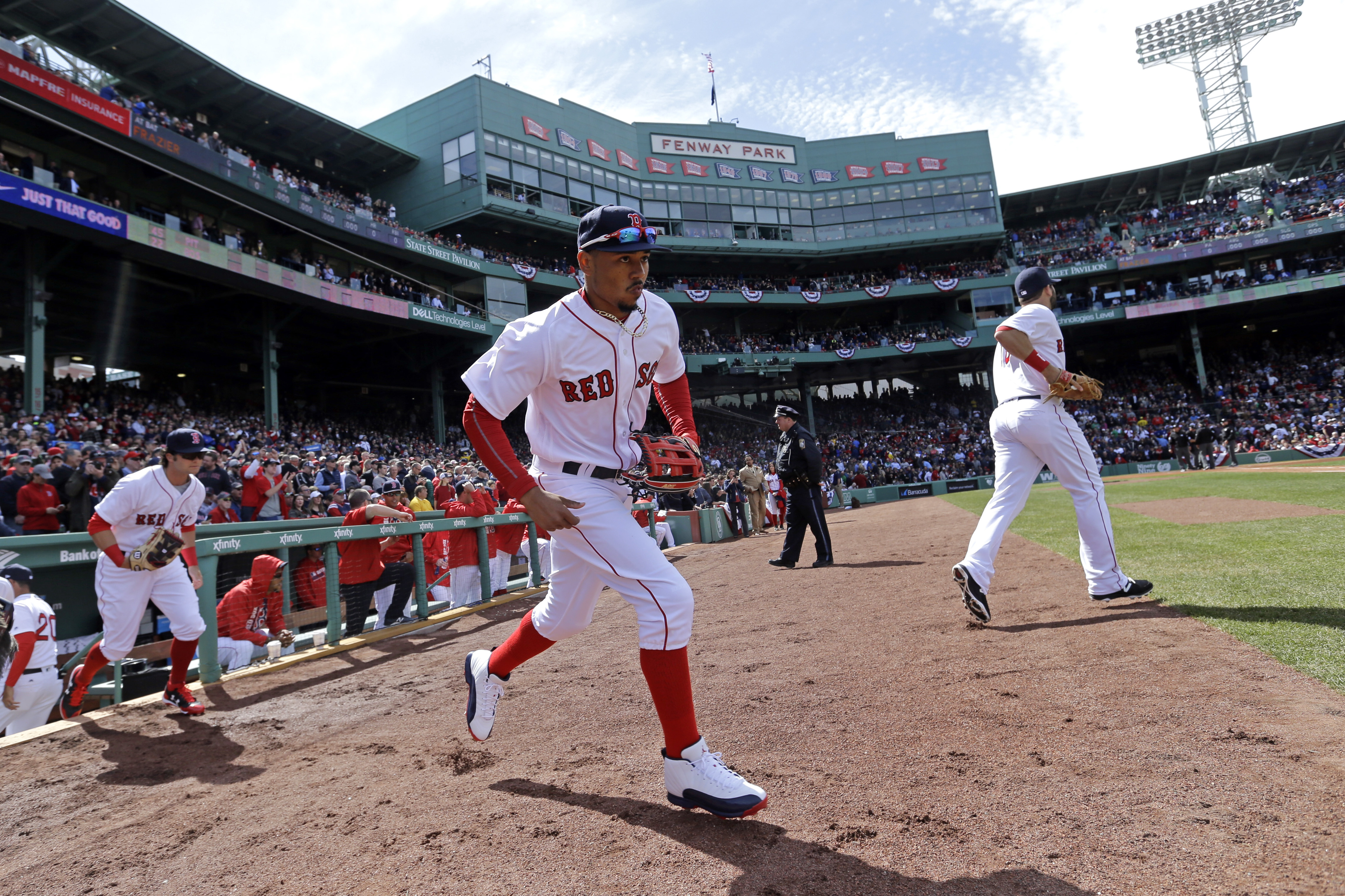 The red sox fumigated their clubhouse for the flu boston magazine photo via ap voltagebd Images