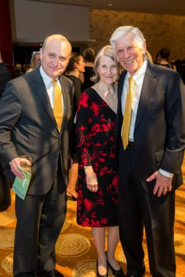 Barry Sloane, Val Mandell and Dr. James Mandell / Photo by Nathan Fried-Lipski