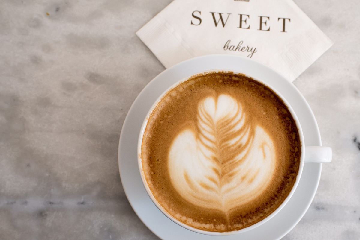 Coffee at Sweet Bakery