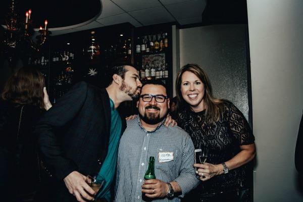 Greg DuBous, Oscar Alvarez, and Joy Clark / Photo by Oscar Alvarez