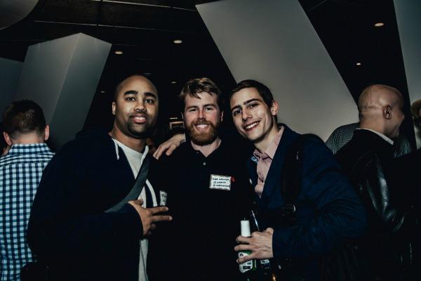 Munir H., Dave Crowley, and Nicholas Wainer / Photo by Oscar Alvarez