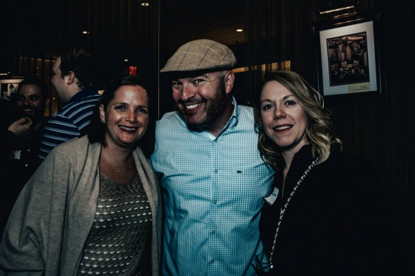 Jen Porzio, Jeff Porzio, and Christine Kalish / Photo by Oscar Alvarez