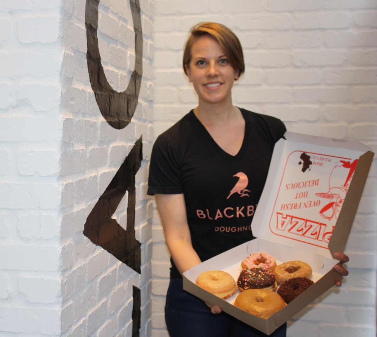 Blackbird Doughnuts chef and partner Anna Perna
