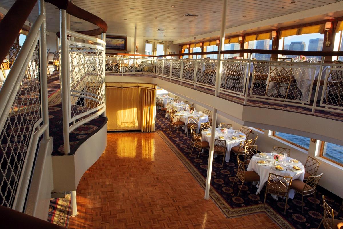 The Boston Harbor Cruise ship the Majesty