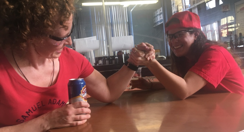 Boston Beer Industry Women Could Beat You At Arm Wrestling