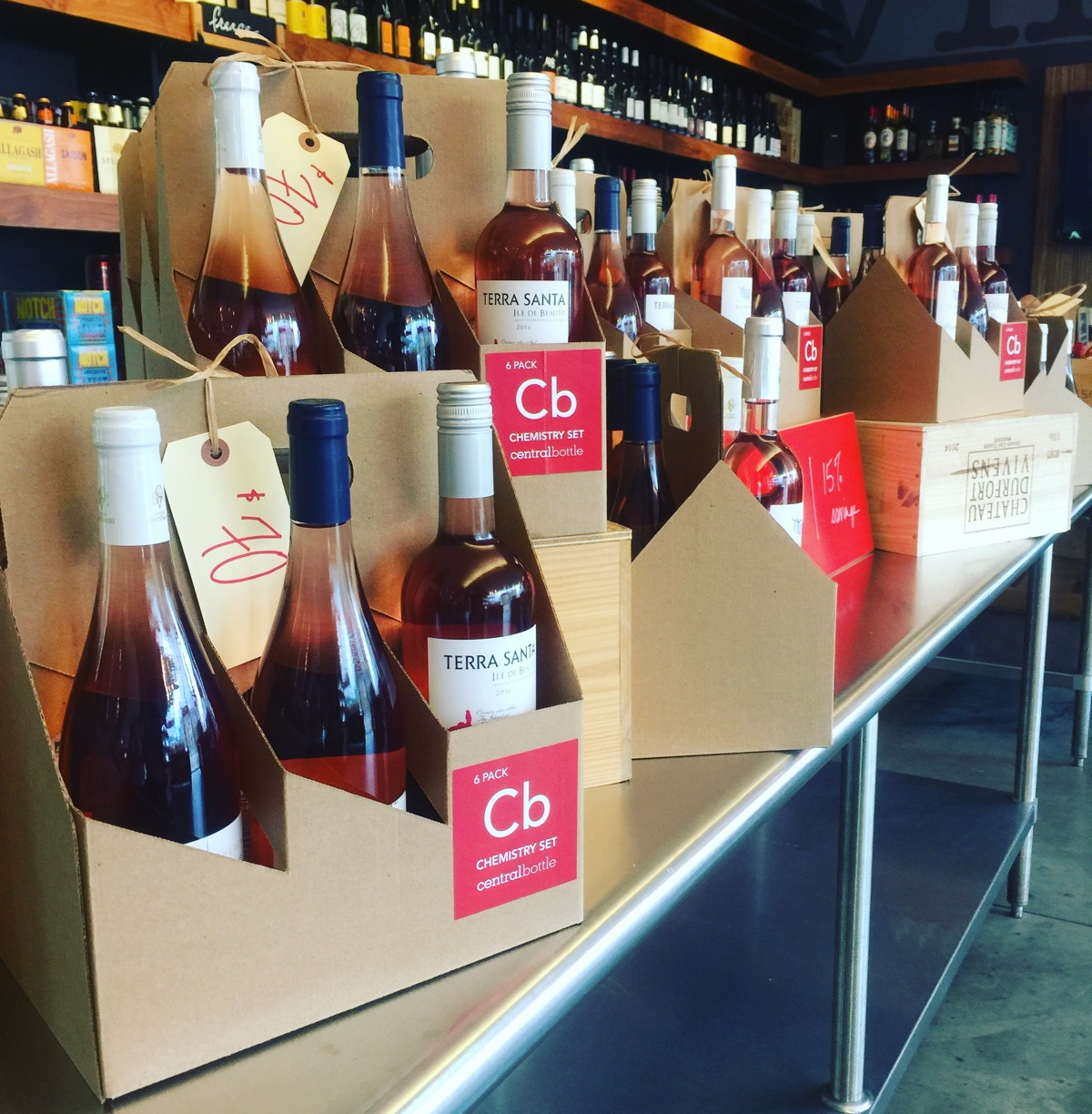 Central Bottle has a discounted six pack of French roses on Memorial Day weekend
