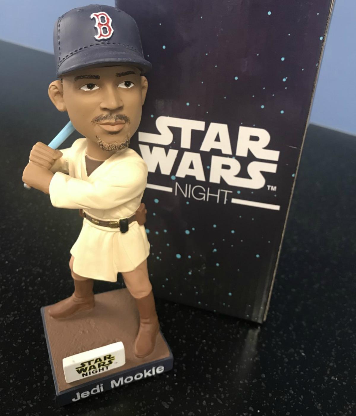 Red Sox Star Wars Night Jedi Mookie