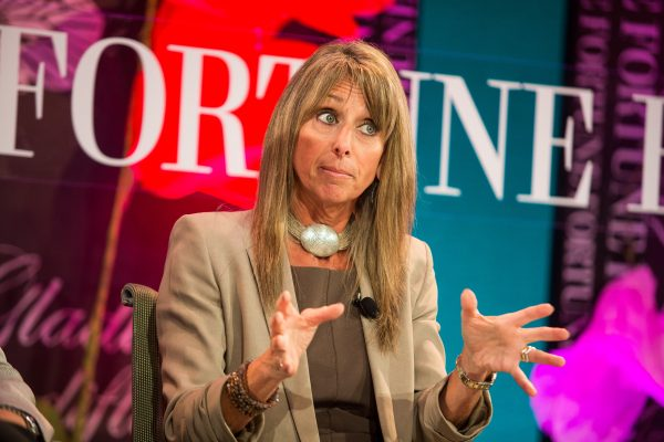 Wednesday, October 3rd, 2012 CONVERSATION: THE CONFUSING, CONFOUNDING, EVER-CHANGING MEDIA WORLD Media honchos talk about innovating and adapting to the transformations that technology delivers. Speakers:Bonnie Hammer, Chairman, NBC Universal Cable Entertainment and Universal Cable Studios, NBCUniversal MediaLaura Lang, CEO, Time Inc.Gracia Martore, President and CEO, GannettKatie Jacobs Stanton, Vice President, International Sales and Development,Twitter Moderator:Stephanie Mehta, Fortune Photograph by Krista Kennell/Fortune Most Powerful Women Summit