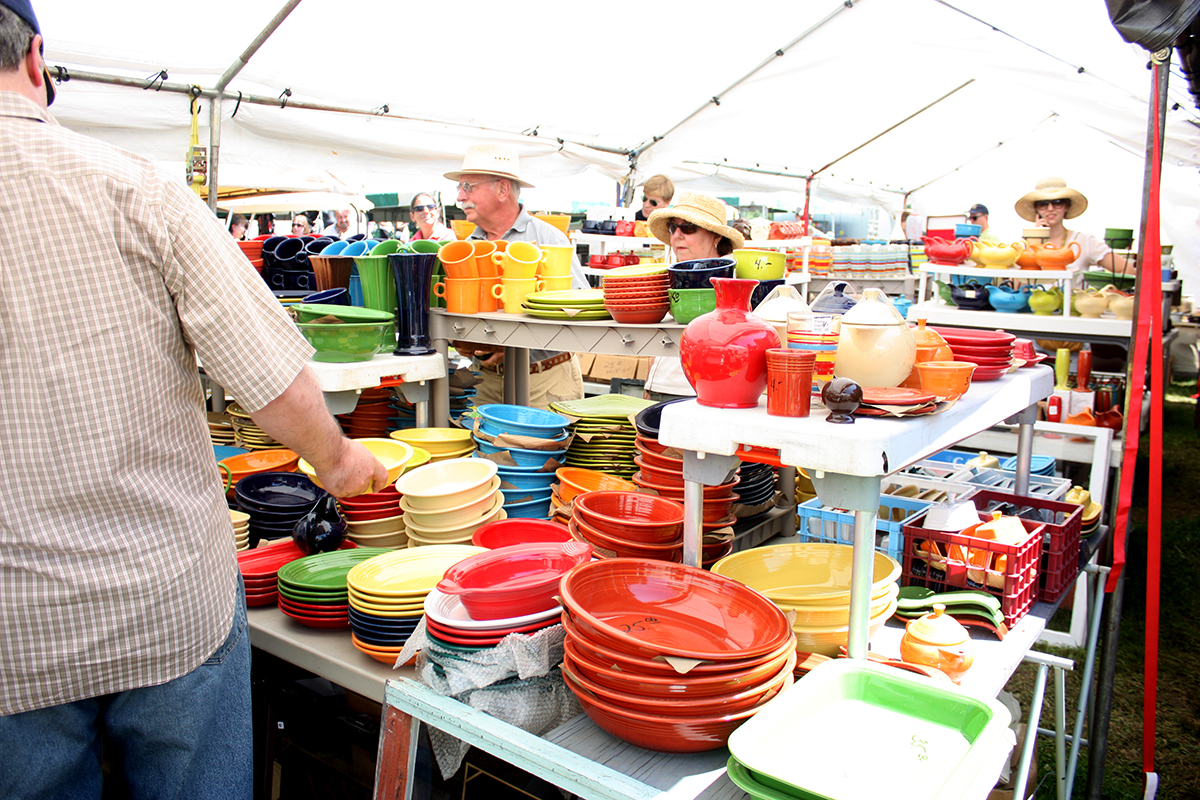 The Brimfield Antique Show Is Back
