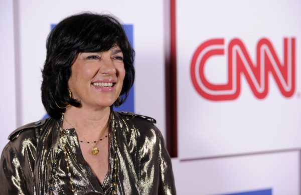 Christiane Amanpour of CNN poses at the CNN Worldwide All-Star Party, on Friday, Jan. 10, 2014, in Pasadena, Calif. (Photo by Chris Pizzello/Invision/AP)