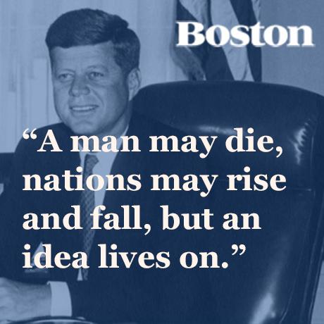 Jfk Quote Sq Boston Magazine Classy Sq Quote