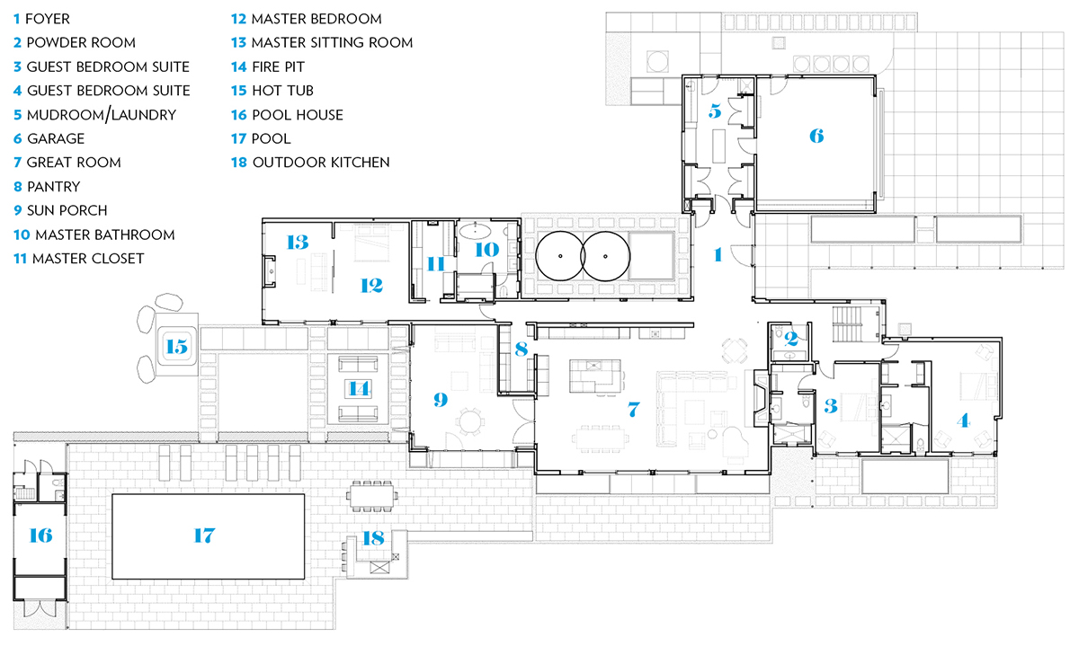 modern mansion berkshires lenox floor plan