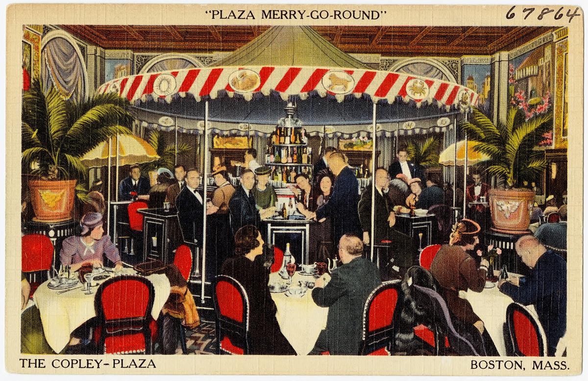 vintage postcards boston