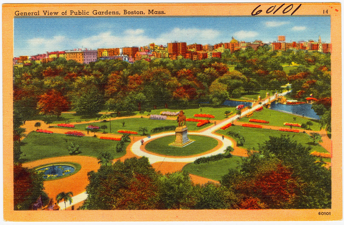 vintage boston postcards