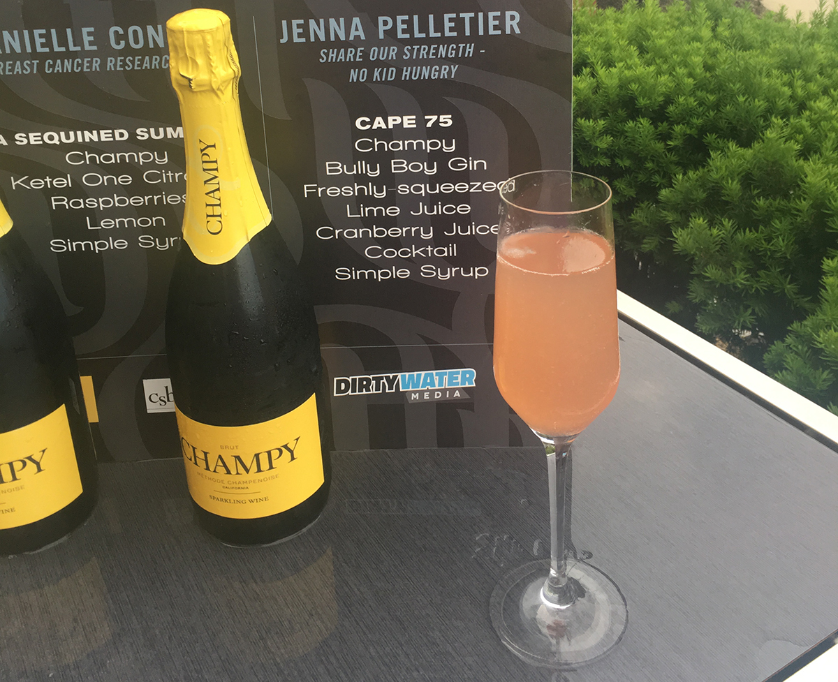 Jenna Pelletier's original cocktail, the Cape 75