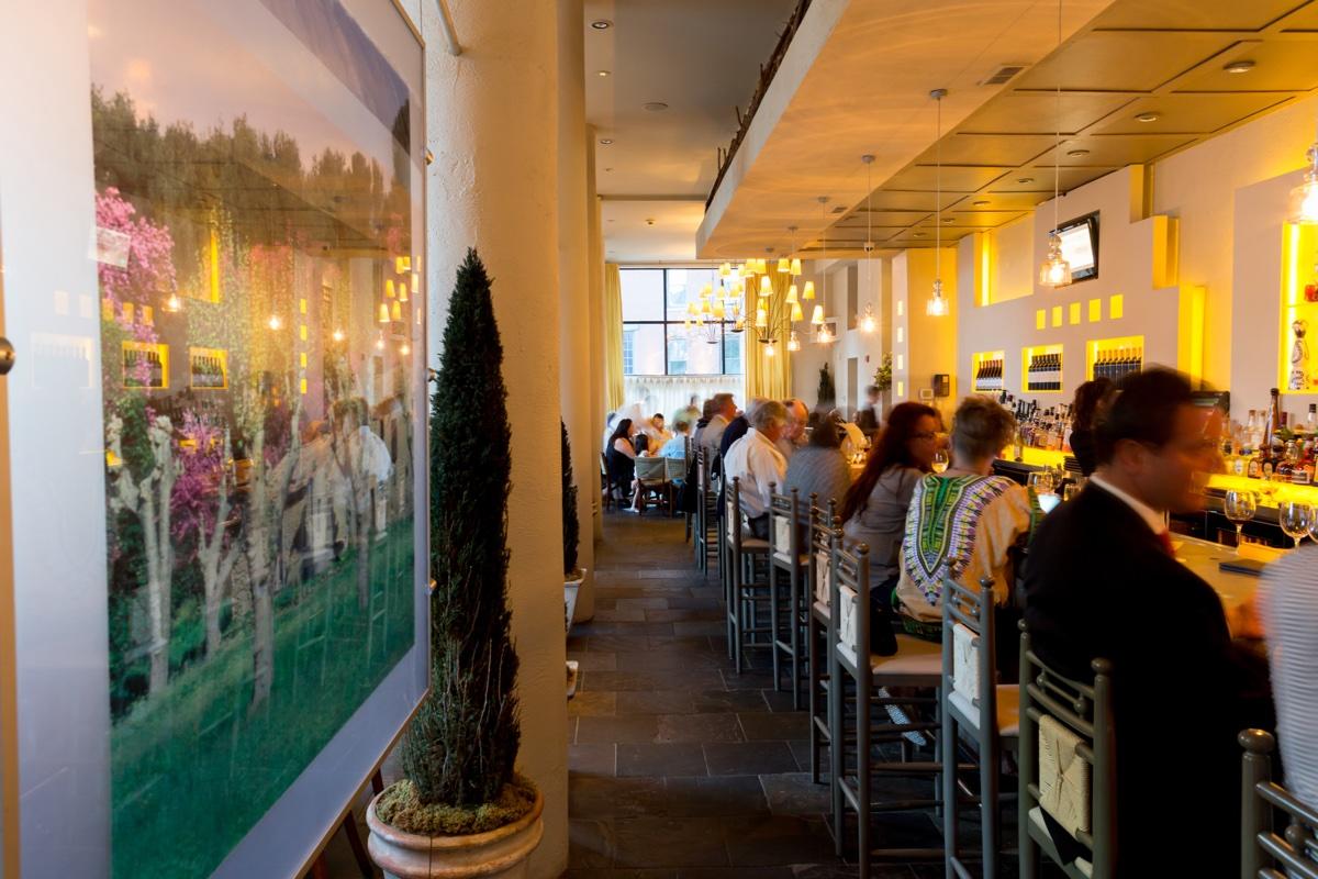 The bar at Mistral