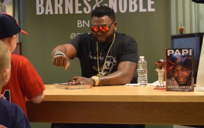 David Ortiz Fist Bump