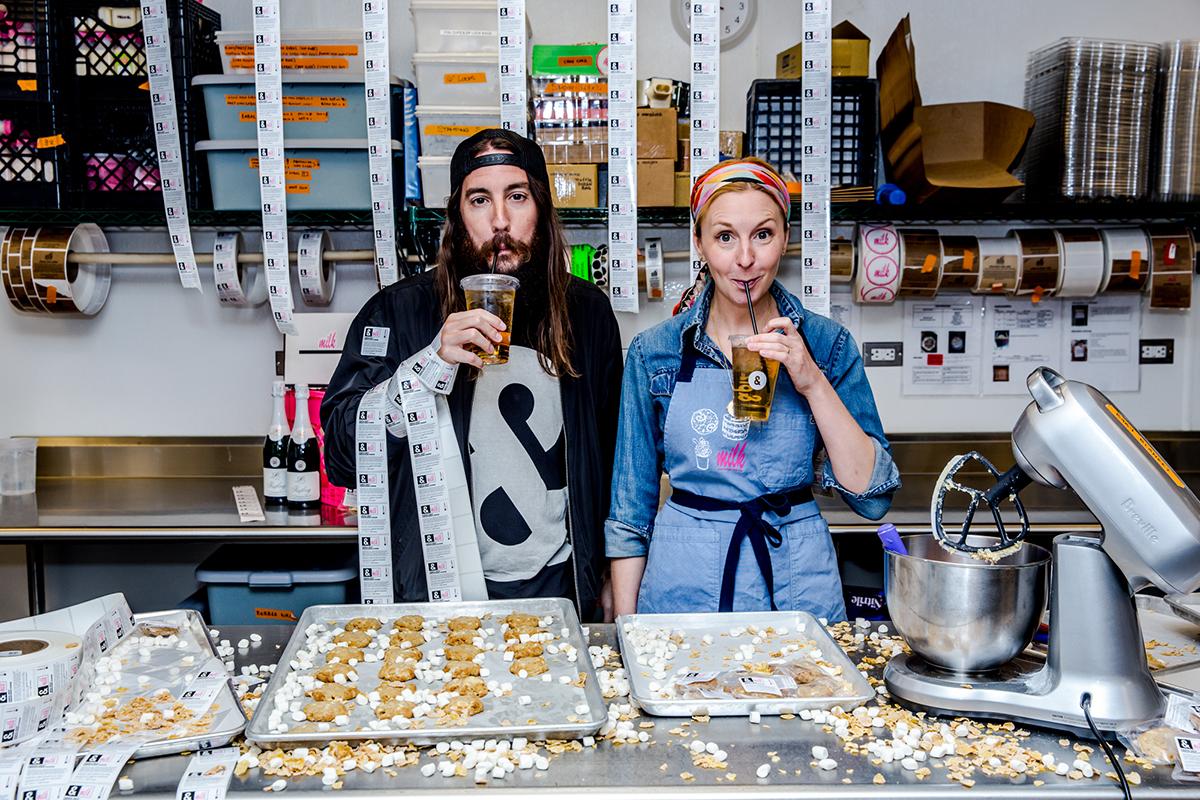 Michael Lastoria Of Pizza And Milk Bar Creator Christina Tosi