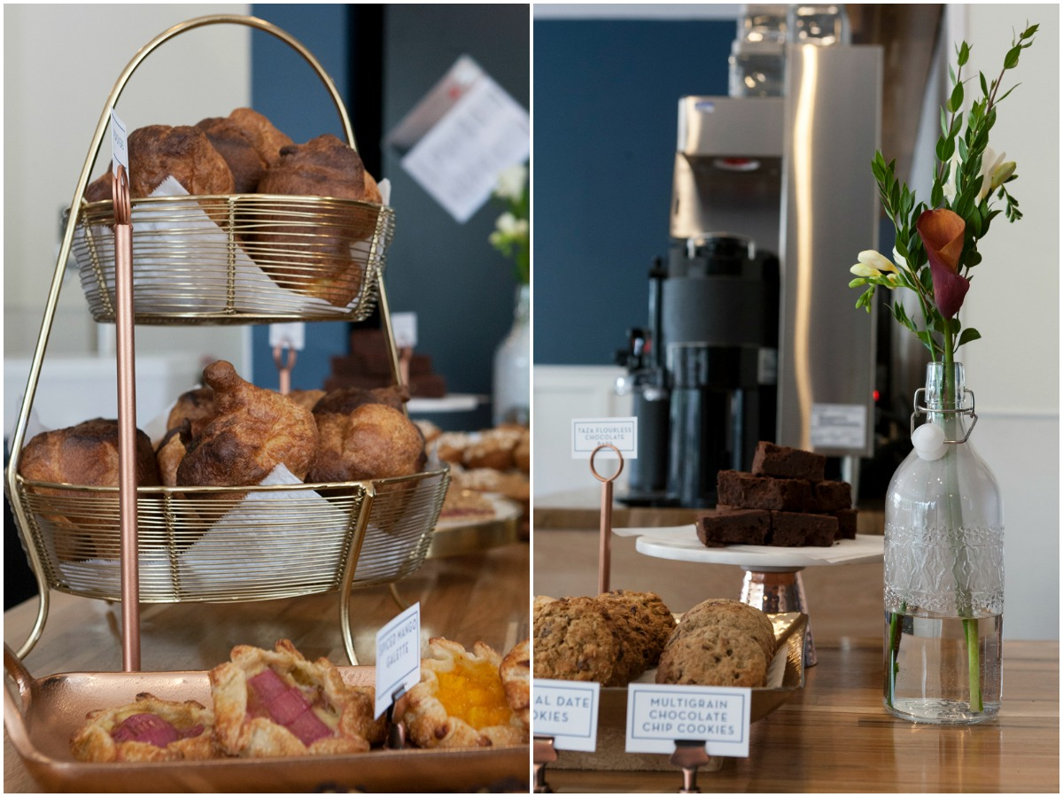 Popovers and other baked goods at Noca Provisions