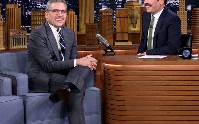 Steve Carell Jimmy Fallon Tonight Show