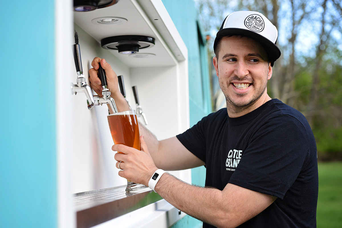 Tapped Beer Truck's Avi Shemtov