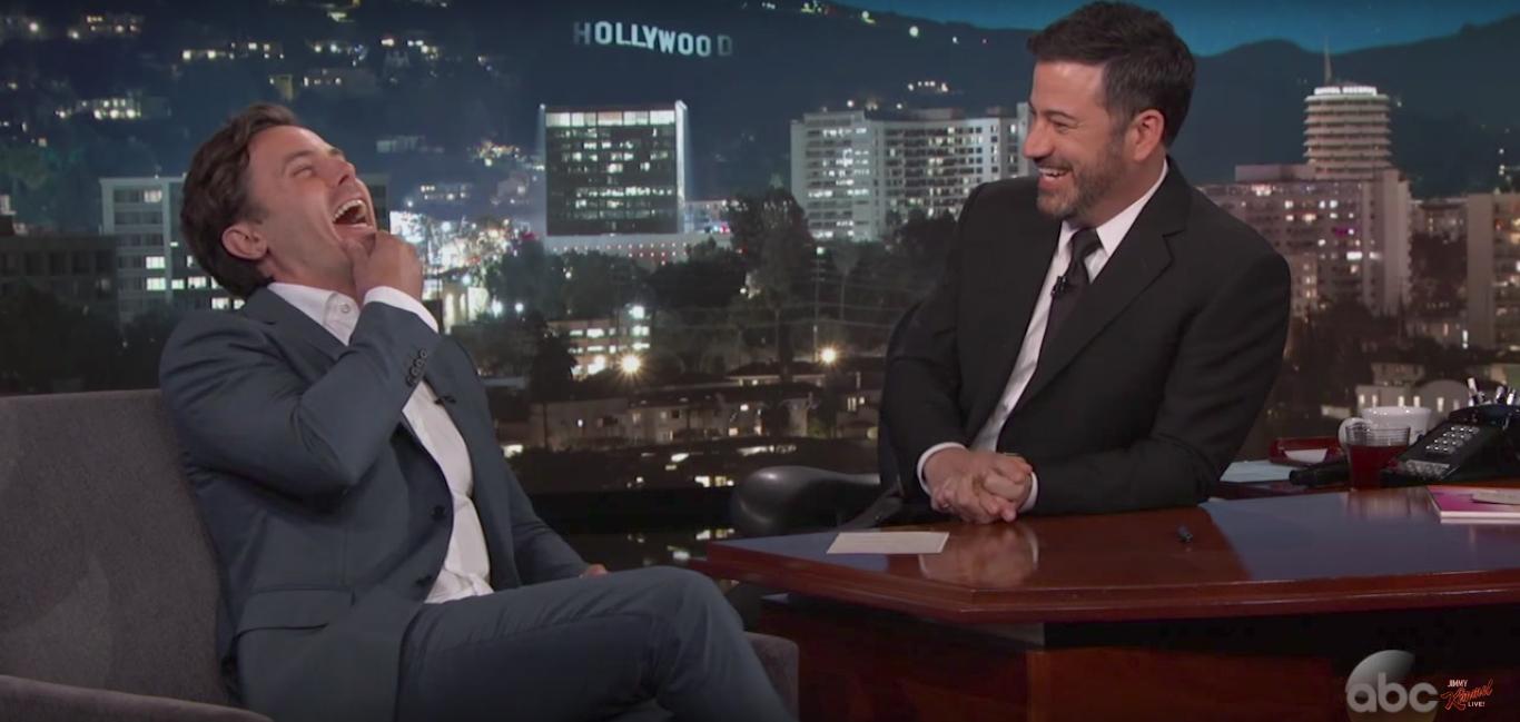 Casey Affleck Jimmy Kimmel Live