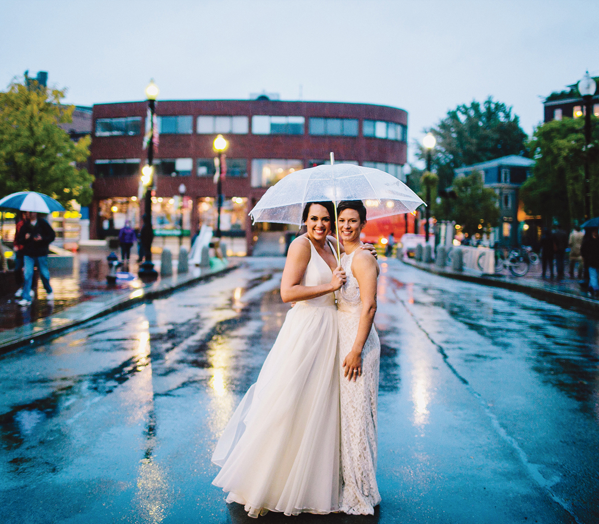 michele truhe whitney yuska wedding photos