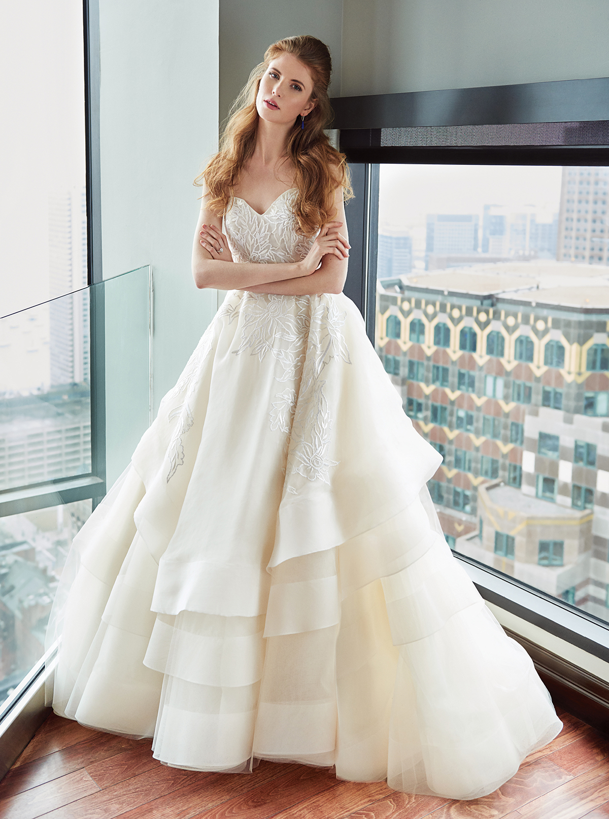 Up in the Air: Boston Weddings\' Fall 2017 Fashion Feature